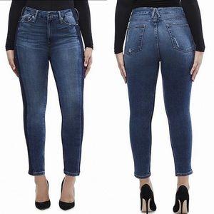Good American Good Waist Shadow Side jeans sz 18